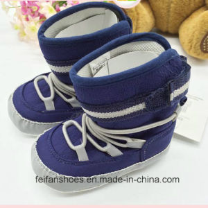Boy Baby Shoes Baby Boots Winter Baby Boots Kx715 (9) pictures & photos