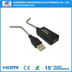 Factory Cheapest USB a Male to a Male Extension Cable pictures & photos