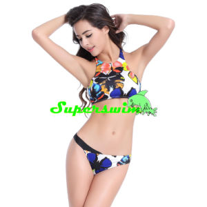 Printed Sexy Tankini for Lady