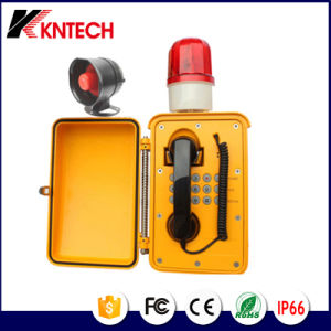 Waterproof Telephone for Public Address System Knsp-08L Kntech pictures & photos