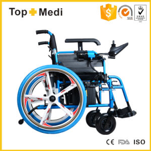 High Quality Foldable Power Electric Wheelchair Prices pictures & photos