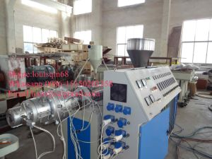 Hot Selling PE Water Supply Pipe Extrusion Machine pictures & photos