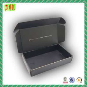 China Tuck Top Color Printing Corrugated Cardboard Shipping Paper Box pictures & photos