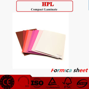 HPL/High Pressure Laminate Material; HPL Type; 4*8 Melamine Laminated Board pictures & photos