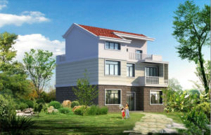 Environmental Friendly House Luxury Prefab House Building pictures & photos