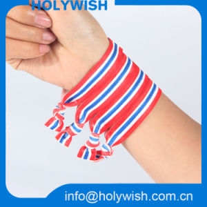 Personalized Design Polyester Elastic Wrist Band for Hair pictures & photos