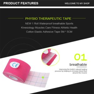 "Sport Kinesiology Tape 2"" X 5y pictures & photos"