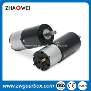 24V High Torque Low Rpm 28mm Spur Gearbox Motor pictures & photos