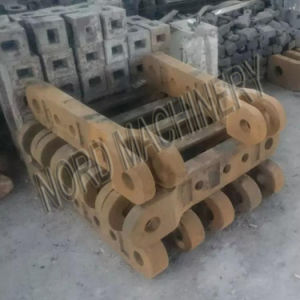 High Mn Steel Casting Link Plate pictures & photos