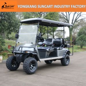 4+2 Seat Golf Car Export to North American, Customized Golf Car with Painted Wheels pictures & photos