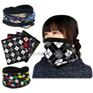fashion Winter Multifunction Black Fleece Ski Neck Warmer pictures & photos