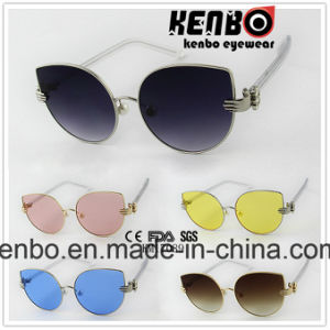 Special Design Hinge with Plastic Tempel Fashion Sunglasses Km17089 pictures & photos