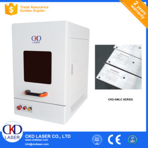 20W High Peak Power Fiber Laser Marking Machine for Bathroom Accessory pictures & photos
