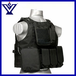 Black Army Tactical Paintball Combat Safety Military Airsoft Vest (SYSG-201743) pictures & photos