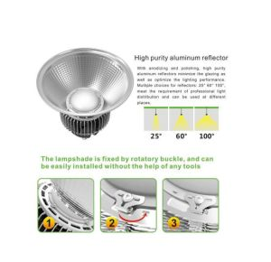 Fast Heat Dissipation Warehouse 250W High Bay LED pictures & photos