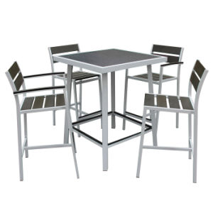 All Weather Waterproof Outdoor Garden Patio Restaurant Furniture Modern Bar Table and Chairs pictures & photos