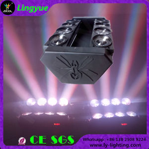 8PCS 10W Stage DJ DMX LED Spider Moving Head Light pictures & photos