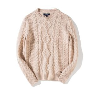 Custom Luxury High Quality Hand Knit Men Sweater Cardigan Pullover pictures & photos