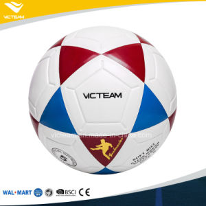 Scuff-Resistant No Stitch Glued Soccer Ball Size 5 pictures & photos