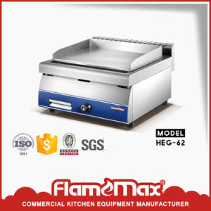 Heg-62 Factory Direct Restaurant Used Fast Heating Electric/Gas Teppanyaki Griddle pictures & photos