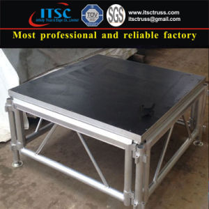 1.22 X 1.22m Aluminum Stages with Plywood Topping pictures & photos