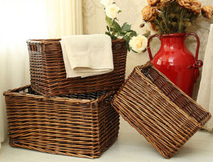 Handmade Wicker Storage Basket with Eco-Friendly (BC-ST1207) pictures & photos