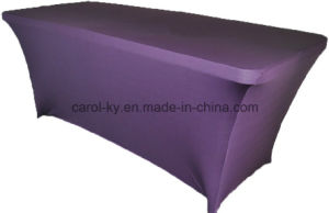Rectangular Fitted Stretch Spandex Table Cover pictures & photos