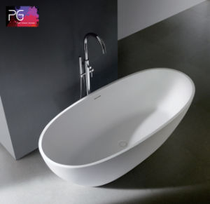 Pg Special Oval Freestanding Solid Small Bathtub Sizes pictures & photos