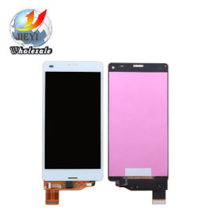 Genuine LCD for Sony D5803, D5833 Z3 Compact Black LCD Screen & Digitizer & Frame for Xperia pictures & photos