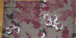 Printed Silk Ggt in Flower Design pictures & photos