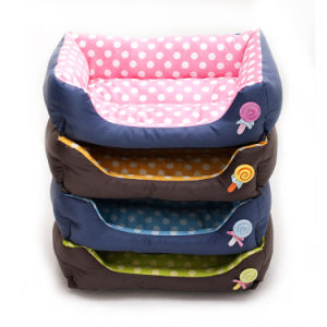 Lovely Design Square Waterproof Dog Bed pictures & photos