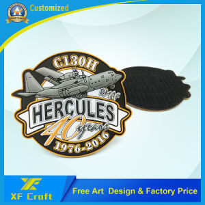 Professional Customized Kuwait Country Army PVC Rubber Patch for Souvenir (XF-PT12) pictures & photos