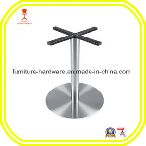 Furniture Hardware Parts Metal Table Leg with Round Base pictures & photos