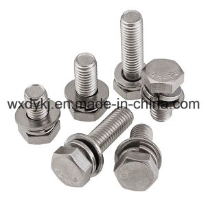 Hexagon Head Tapping Screws and Plain Washer Assemblie pictures & photos