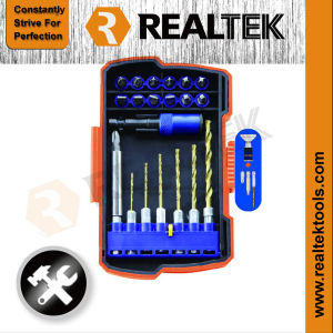 Professional 21PCS Drill and Driver Set with Magnetic pictures & photos