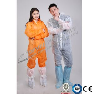 Disposable Nonwoven Coverall, Protective Coverall for Workman pictures & photos