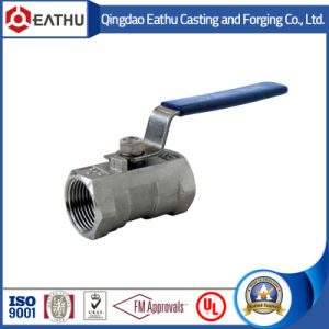 1PC NPT Threaded Stainless Steel Ball Valve pictures & photos