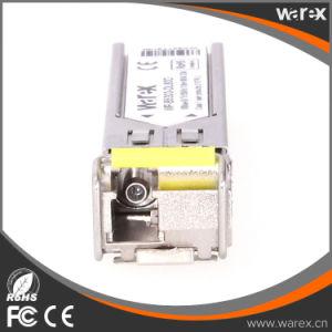 Cisco Compatible 100BASE-BX 1550nm TX/1310nm RX 80km SFP Transceiver Module pictures & photos