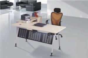 Italian Natural Design Wooden Desk, Rose Wood Computer Desk, Office Computer Desk pictures & photos