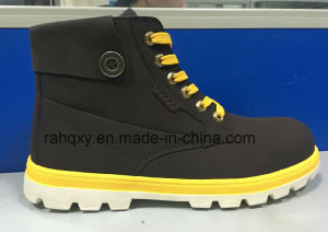 Gentalman Cemented Safety Shoes (HQ16073) pictures & photos