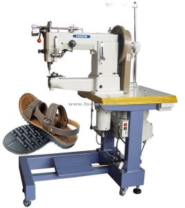 Compound Feed Leather Sewing Machine for Upholstery Fabrics pictures & photos