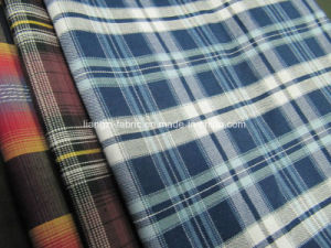 100% Cotton Yarn Dyed Twill Check for Shirt Fabric pictures & photos