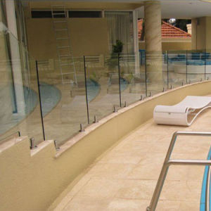 Luxury Designed Frameless Glass Fence for Pool pictures & photos