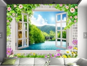 Customer Printing Seamless Wallpaper pictures & photos