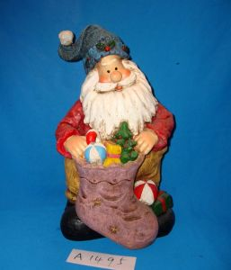 Antique Funny Santa with Gifts for Christmas Decoration pictures & photos