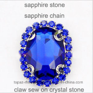 2017 Latest Oval Sew on Rhinestone Claw Setting Crystals (SW-Oval 13*18mm) pictures & photos