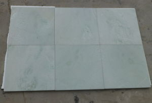 Verde Jade Green Marble Slabs/Tiles for Indoor Decoration pictures & photos