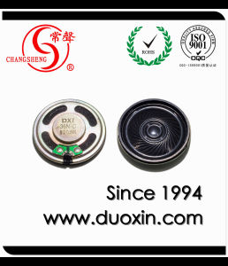 0.25W 8ohm 36mm Mylar Mini Dynamic Speaker Loudspeaker pictures & photos