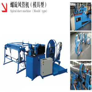 Spiral Duct Forming Machine for Round Air Tube Making Production pictures & photos