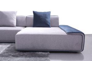 Modern European Design Large U Shape Fabric Sofa (HC573) pictures & photos